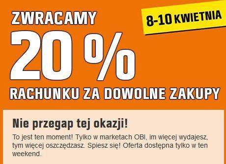 Gazetka promocyjna OBI do 10/04/2016 str.0