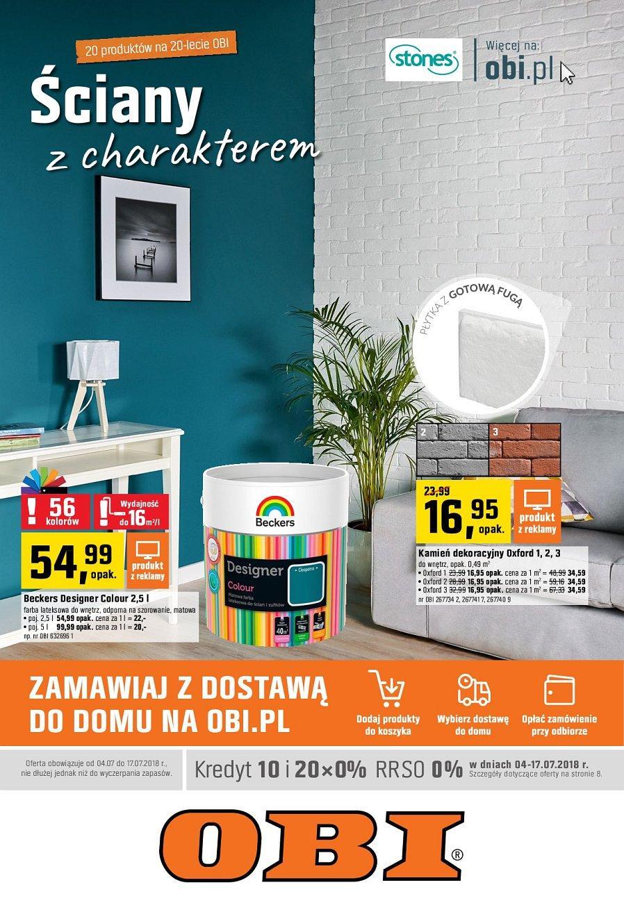 Gazetka promocyjna OBI do 17/07/2018 str.0