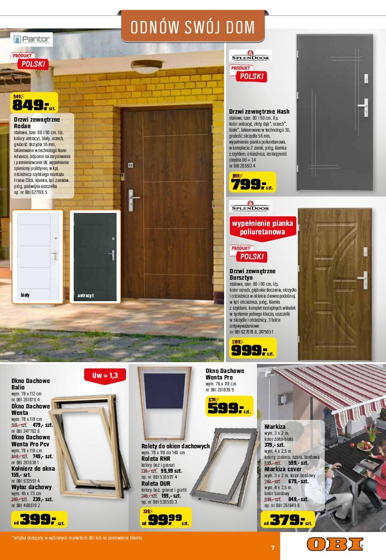 Gazetka promocyjna OBI do 24/05/2017 str.6
