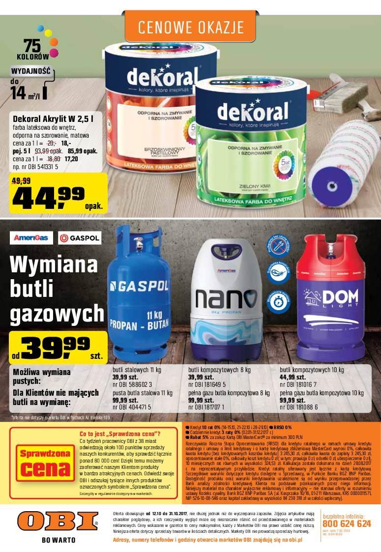Gazetka promocyjna OBI do 31/10/2017 str.11