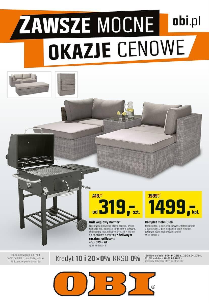 Gazetka promocyjna OBI do 30/04/2019 str.0