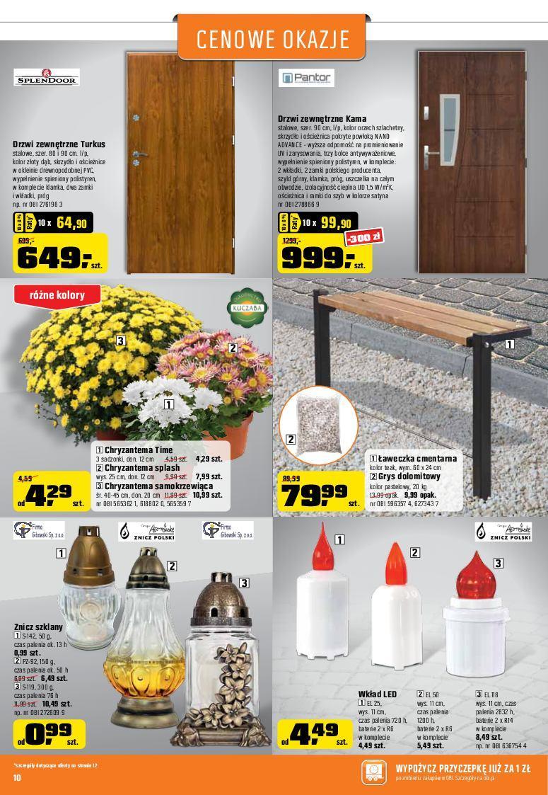 Gazetka promocyjna OBI do 31/10/2017 str.9