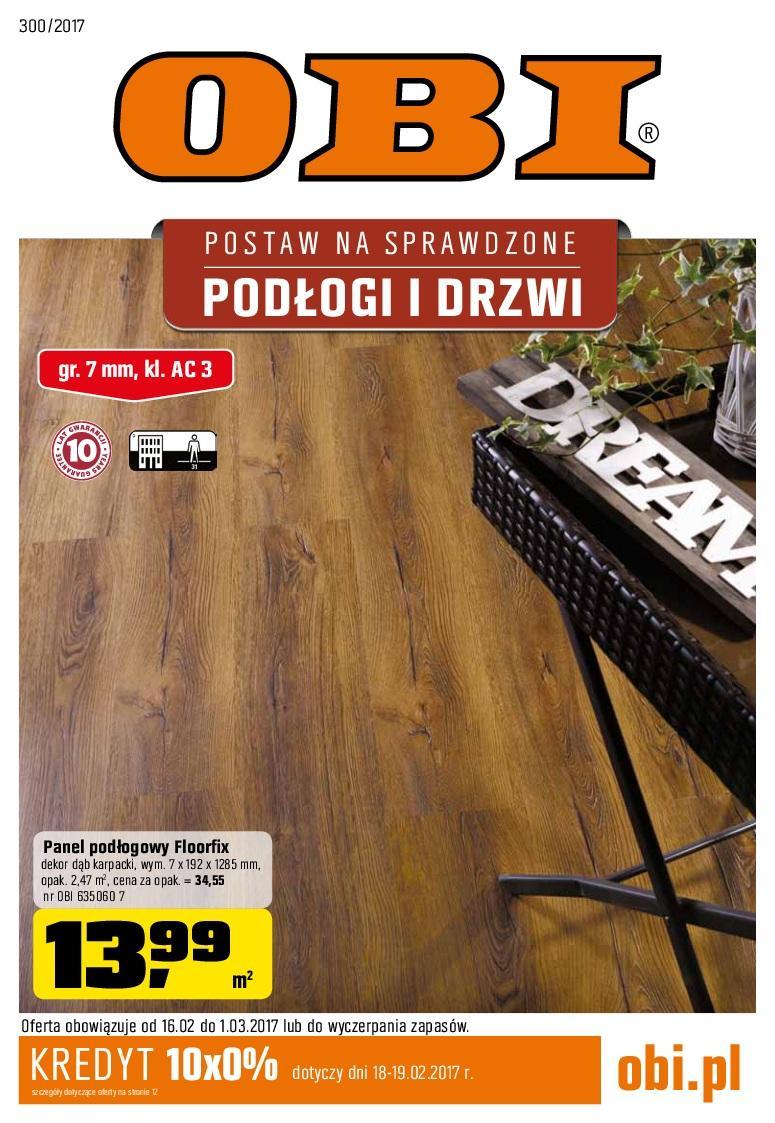 Gazetka promocyjna OBI do 01/03/2017 str.0