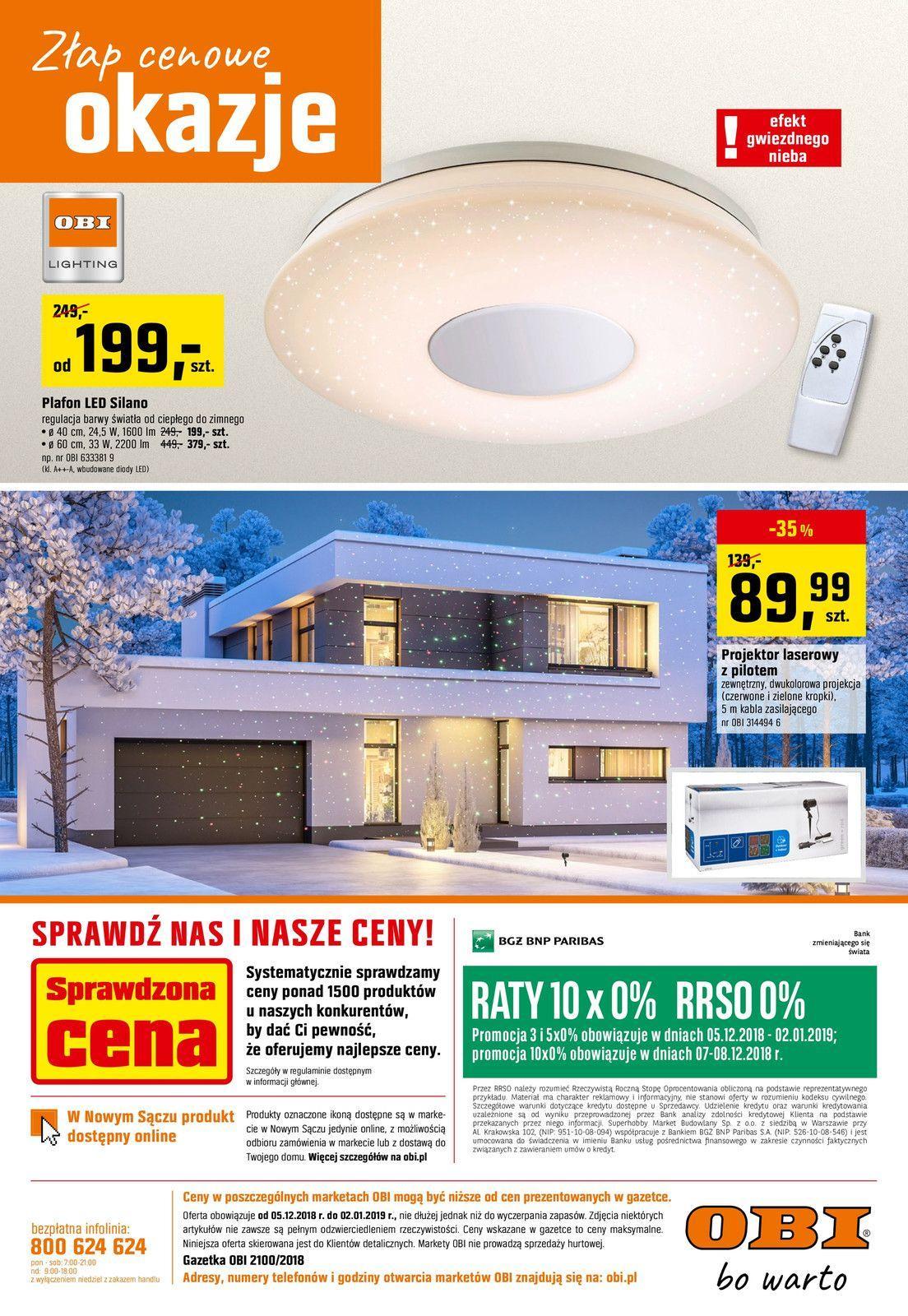 Gazetka promocyjna OBI do 02/01/2019 str.8