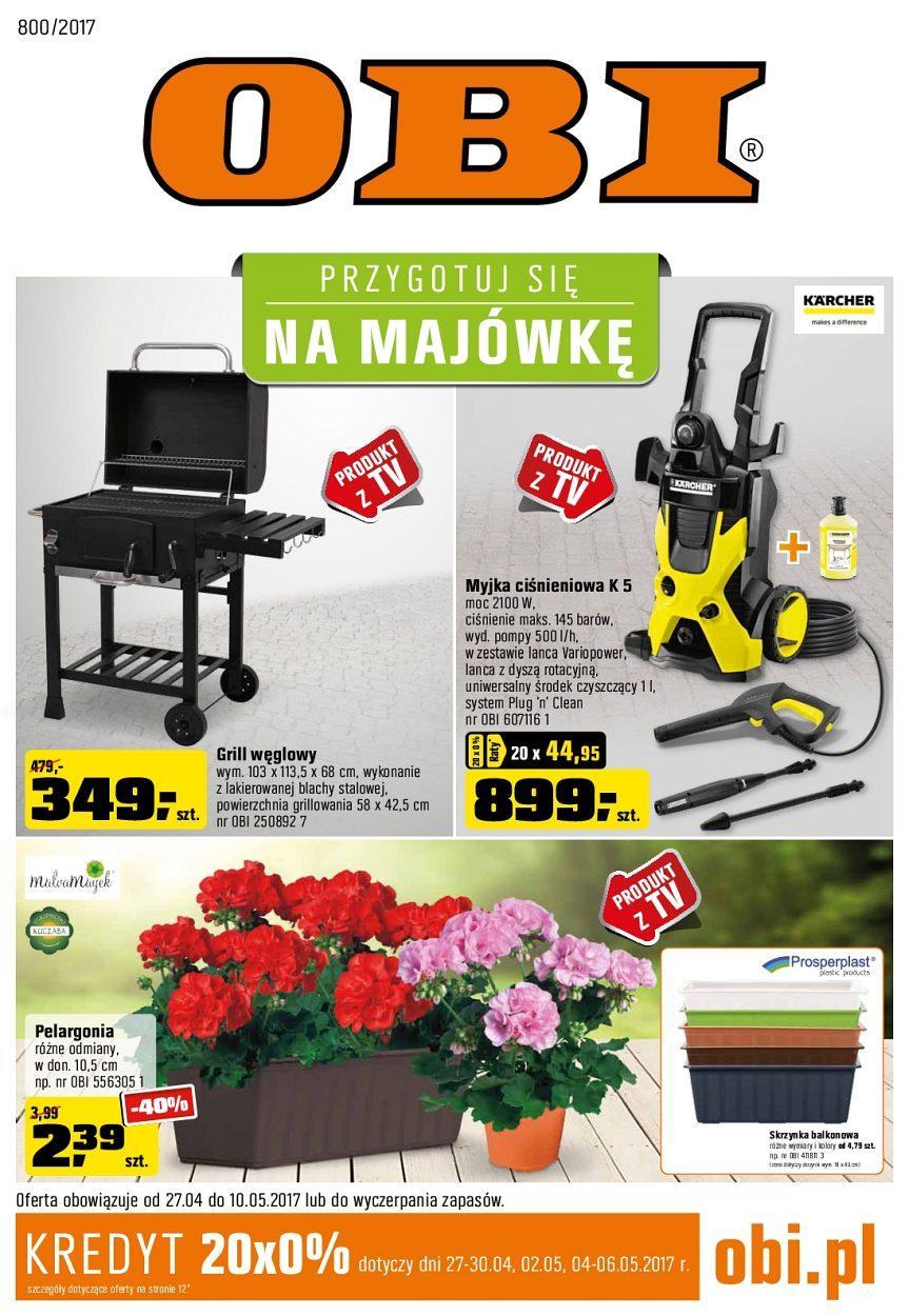 Gazetka promocyjna OBI do 10/05/2017 str.0