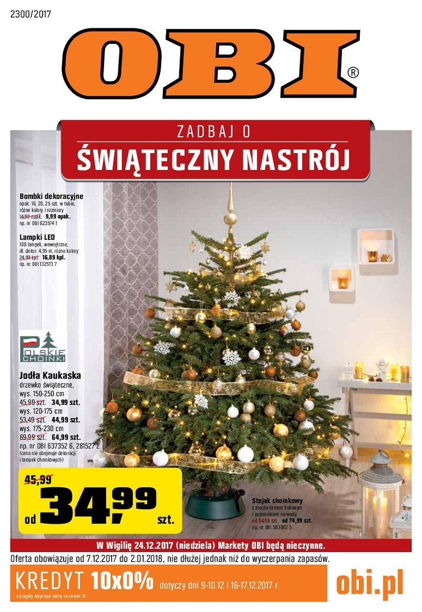 Gazetka promocyjna OBI do 02/01/2018 str.0