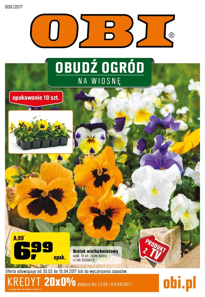 Gazetka promocyjna OBI do 15/04/2017 str.0