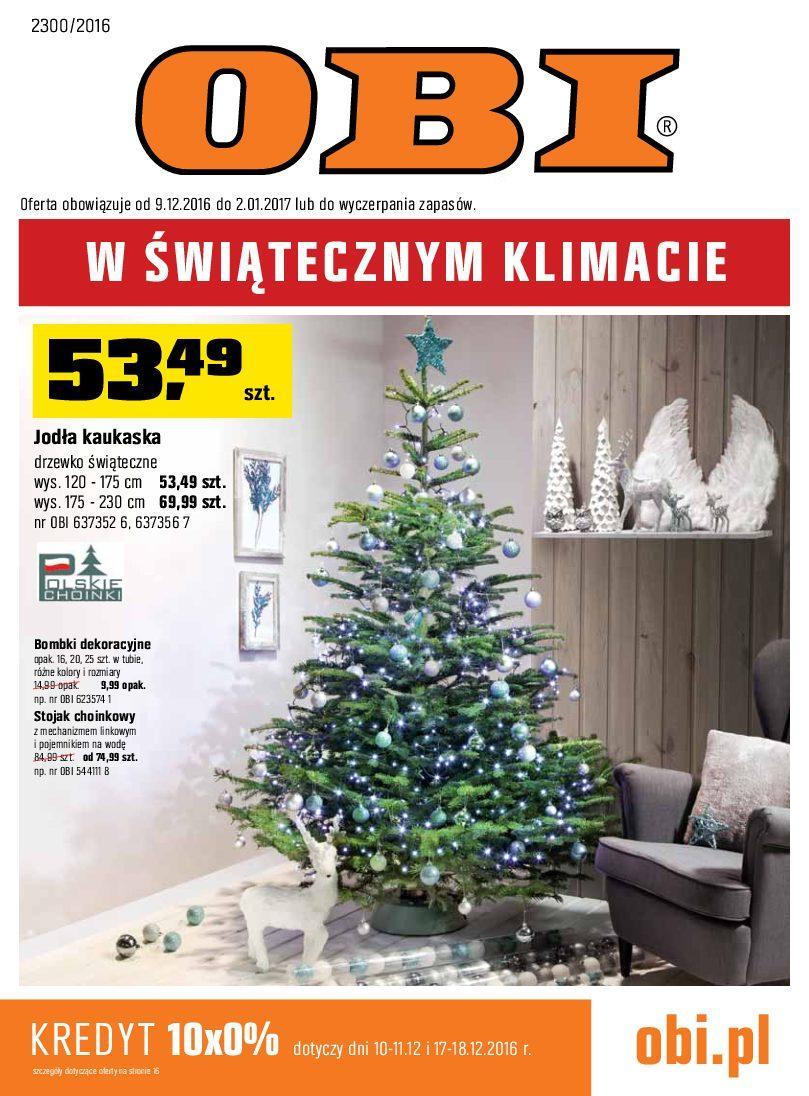 Gazetka promocyjna OBI do 02/01/2017 str.0