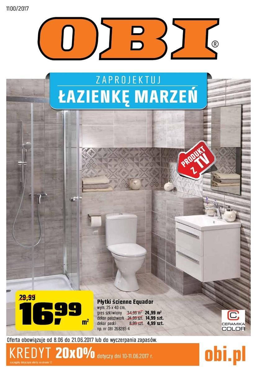 Gazetka promocyjna OBI do 21/06/2017 str.0