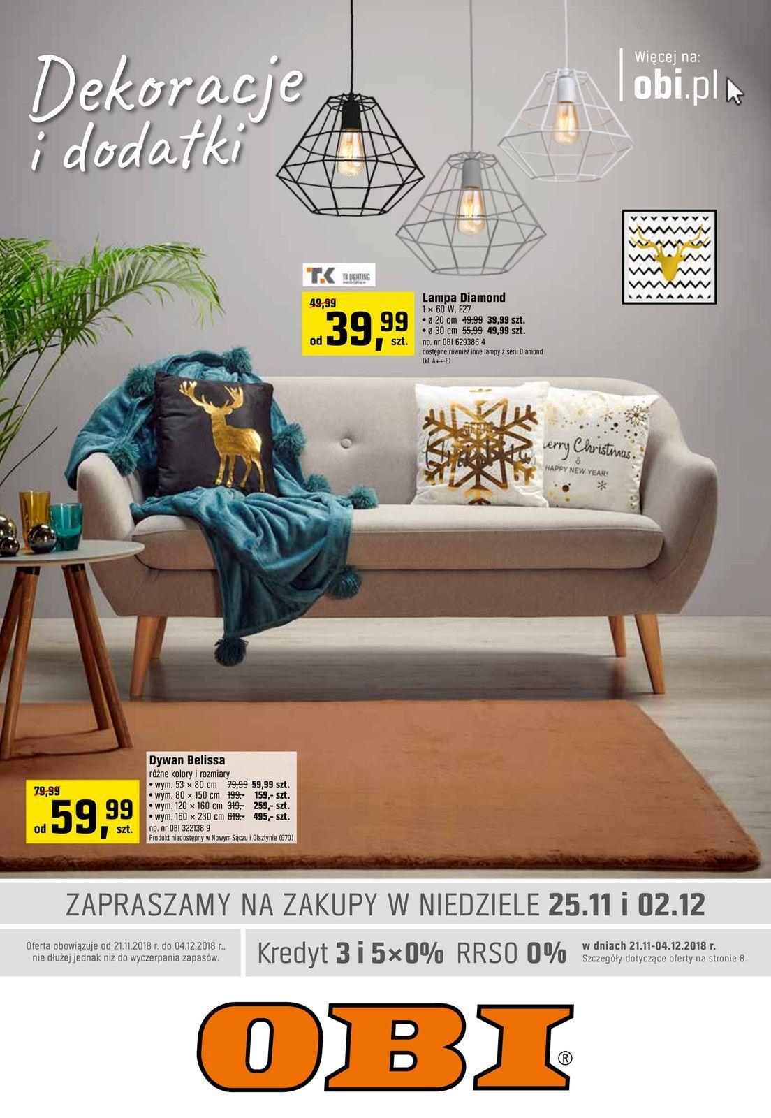Gazetka promocyjna OBI do 04/12/2018 str.0