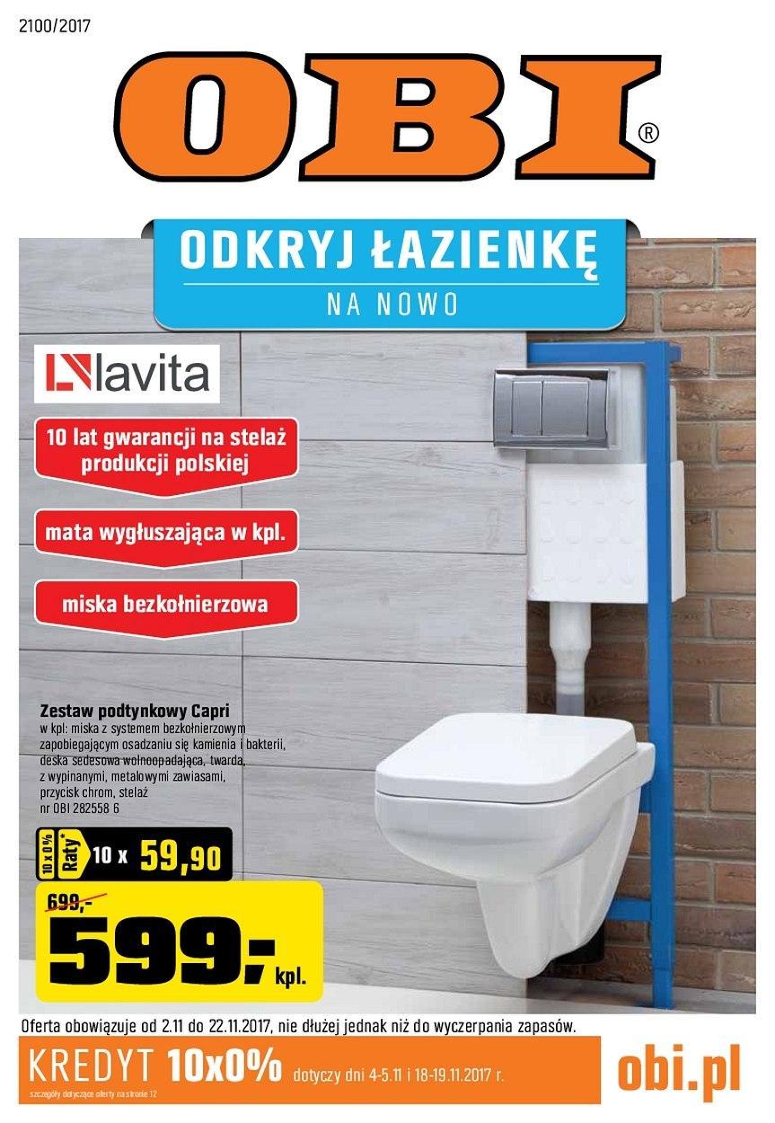Gazetka promocyjna OBI do 22/11/2017 str.0