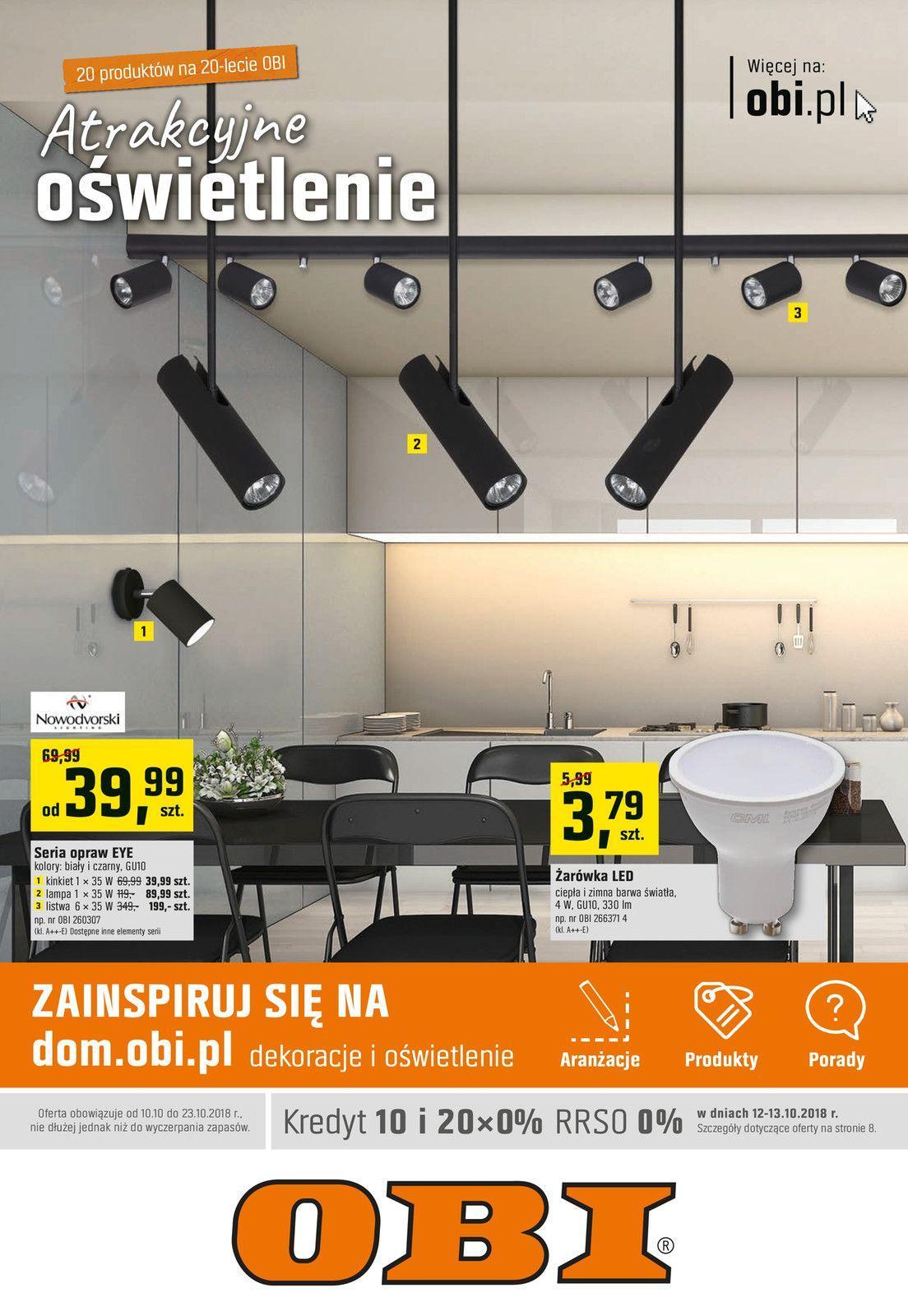 Gazetka promocyjna OBI do 23/10/2018 str.0