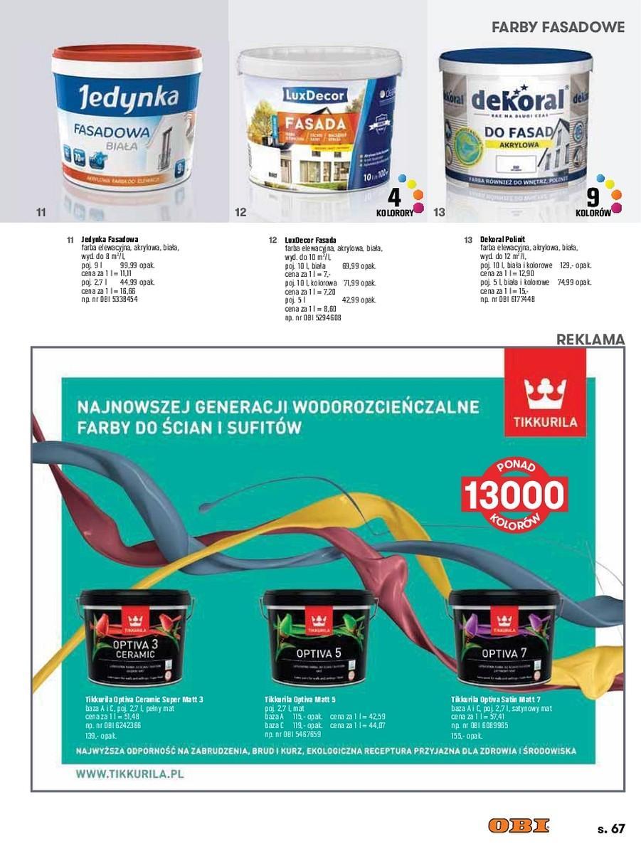Gazetka promocyjna OBI do 31/08/2017 str.66
