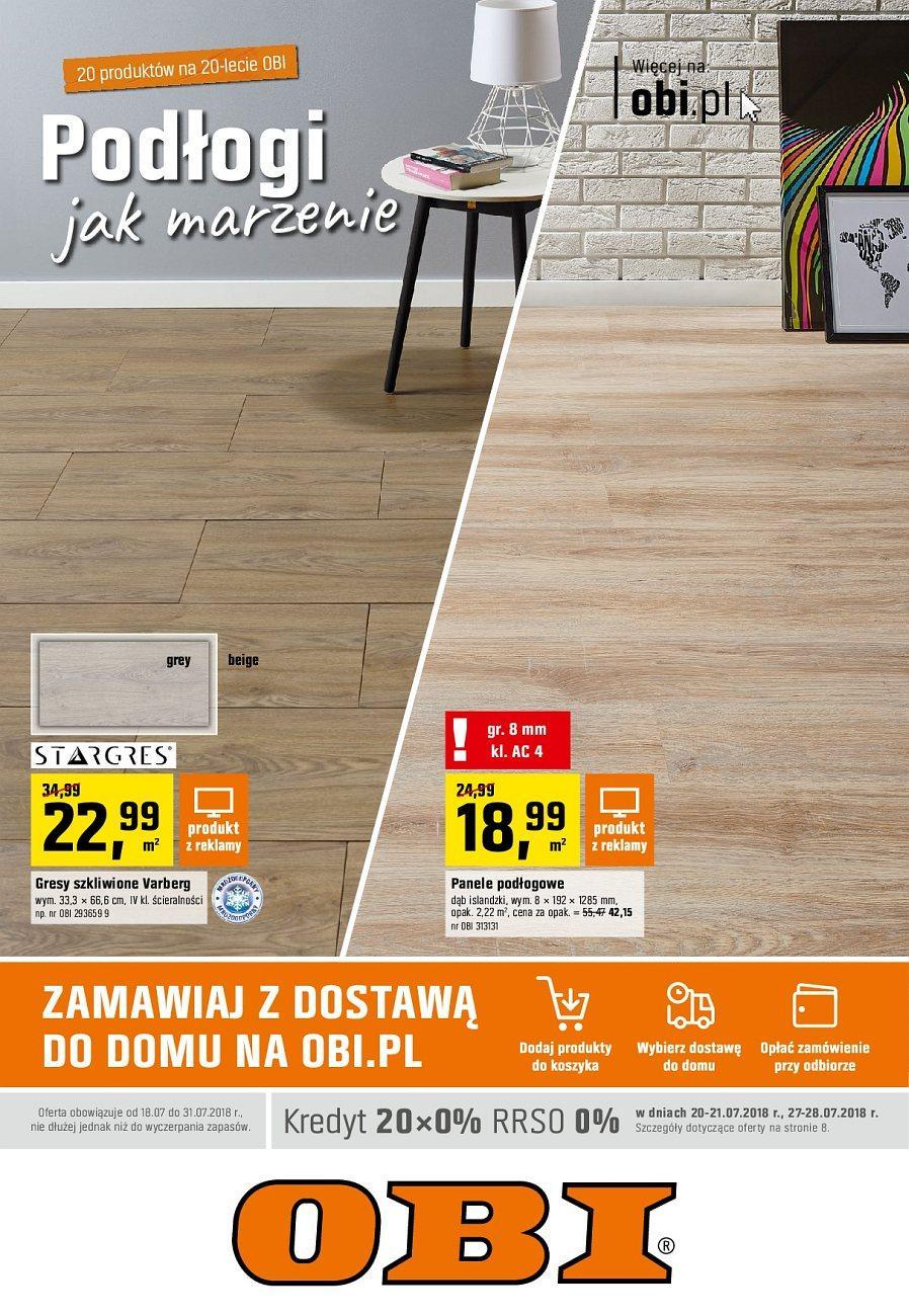 Gazetka promocyjna OBI do 31/07/2018 str.0