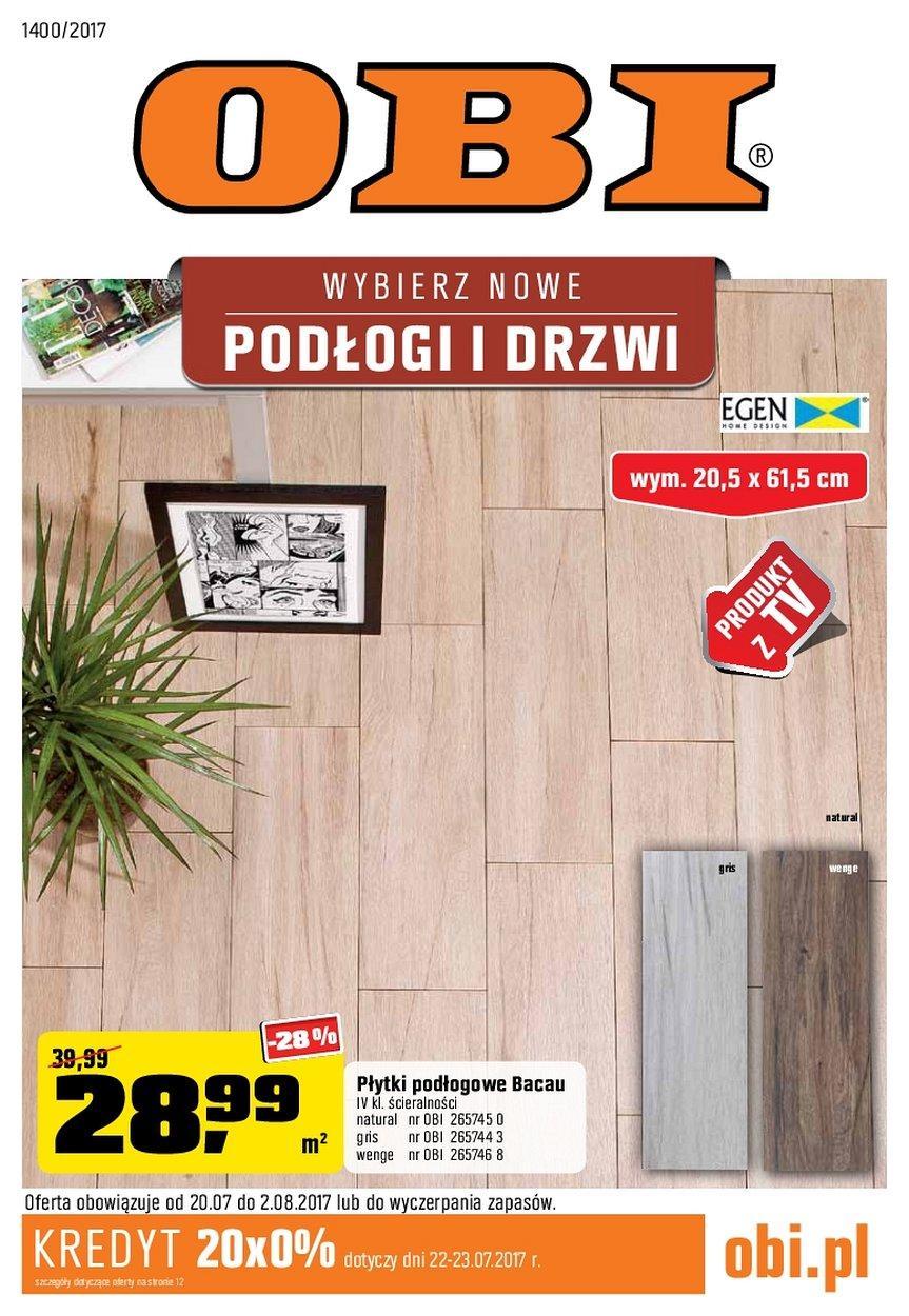 Gazetka promocyjna OBI do 02/08/2017 str.0