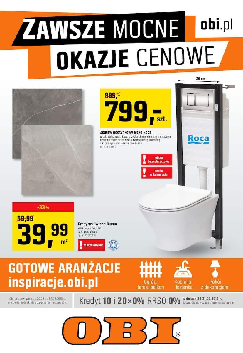 Gazetka promocyjna OBI do 02/04/2019 str.0