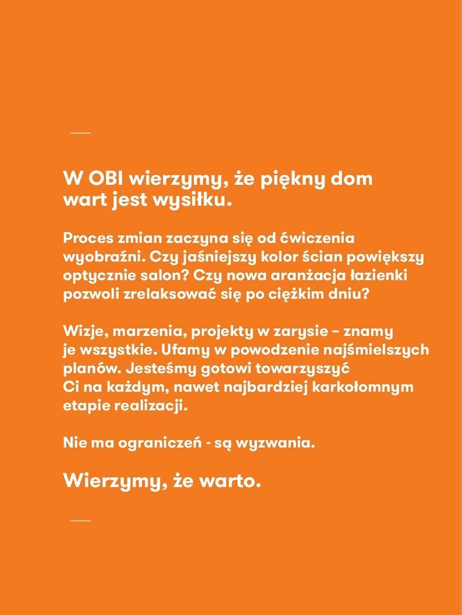 Gazetka promocyjna OBI do 31/08/2017 str.2