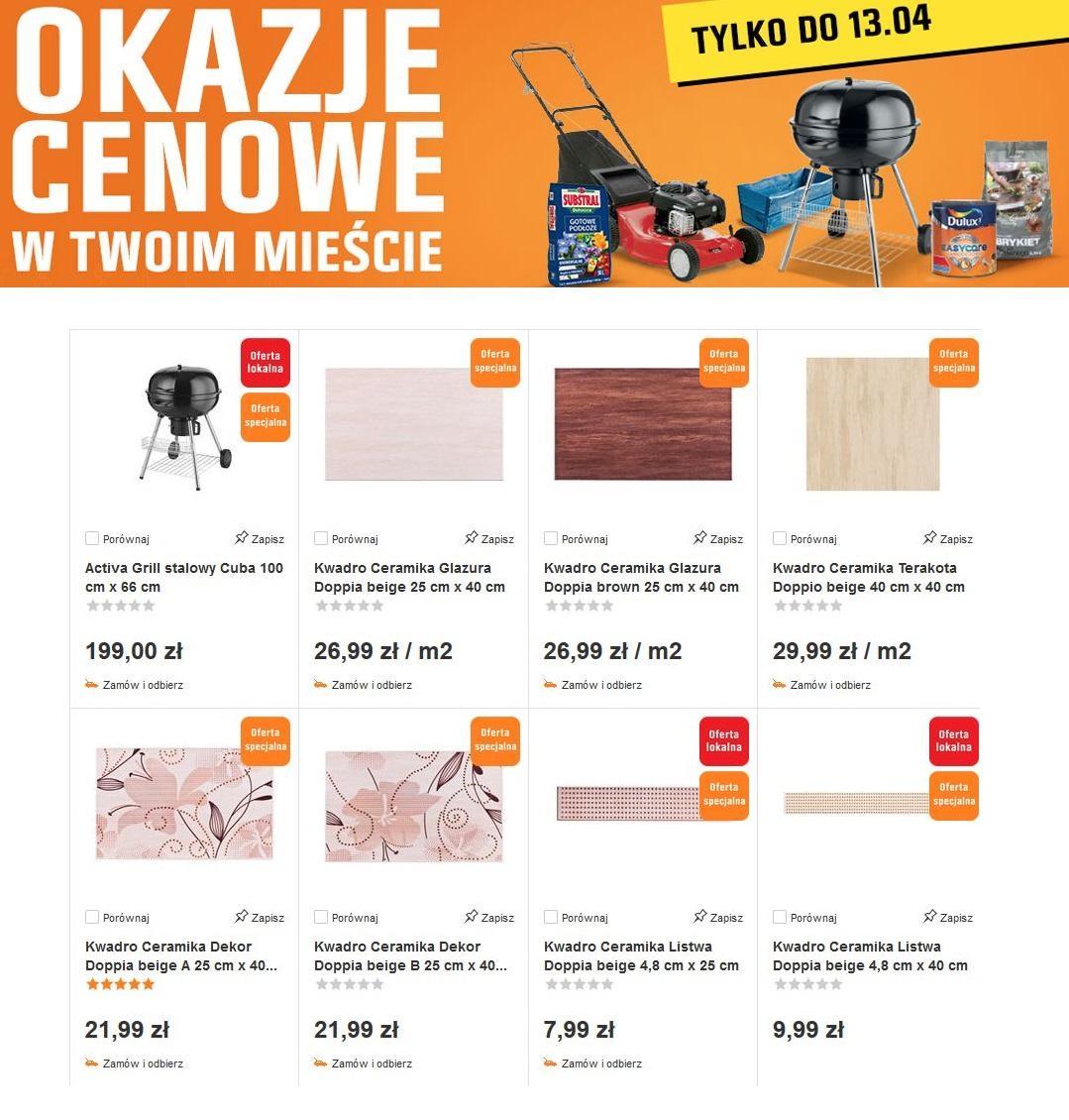 Gazetka promocyjna OBI do 13/04/2016 str.0