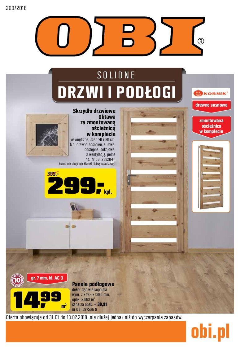 Gazetka promocyjna OBI do 13/02/2018 str.0