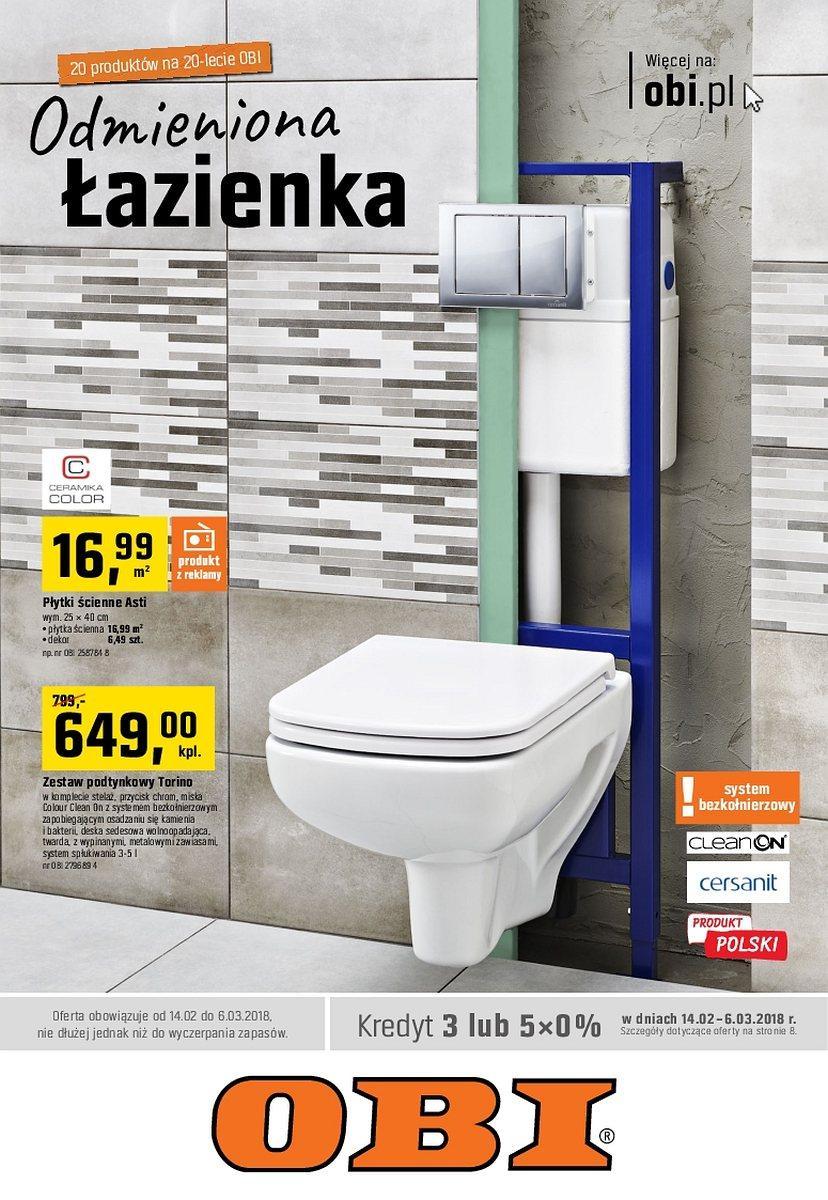 Gazetka promocyjna OBI do 06/03/2018 str.0