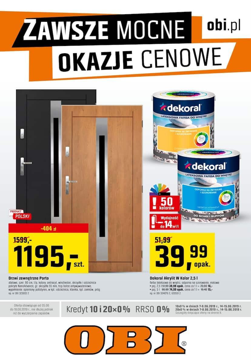 Gazetka promocyjna OBI do 18/06/2019 str.1