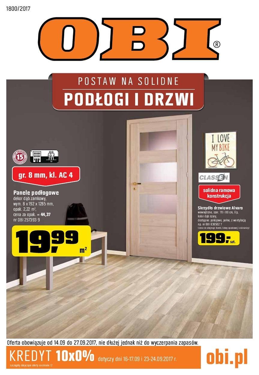 Gazetka promocyjna OBI do 27/09/2017 str.0