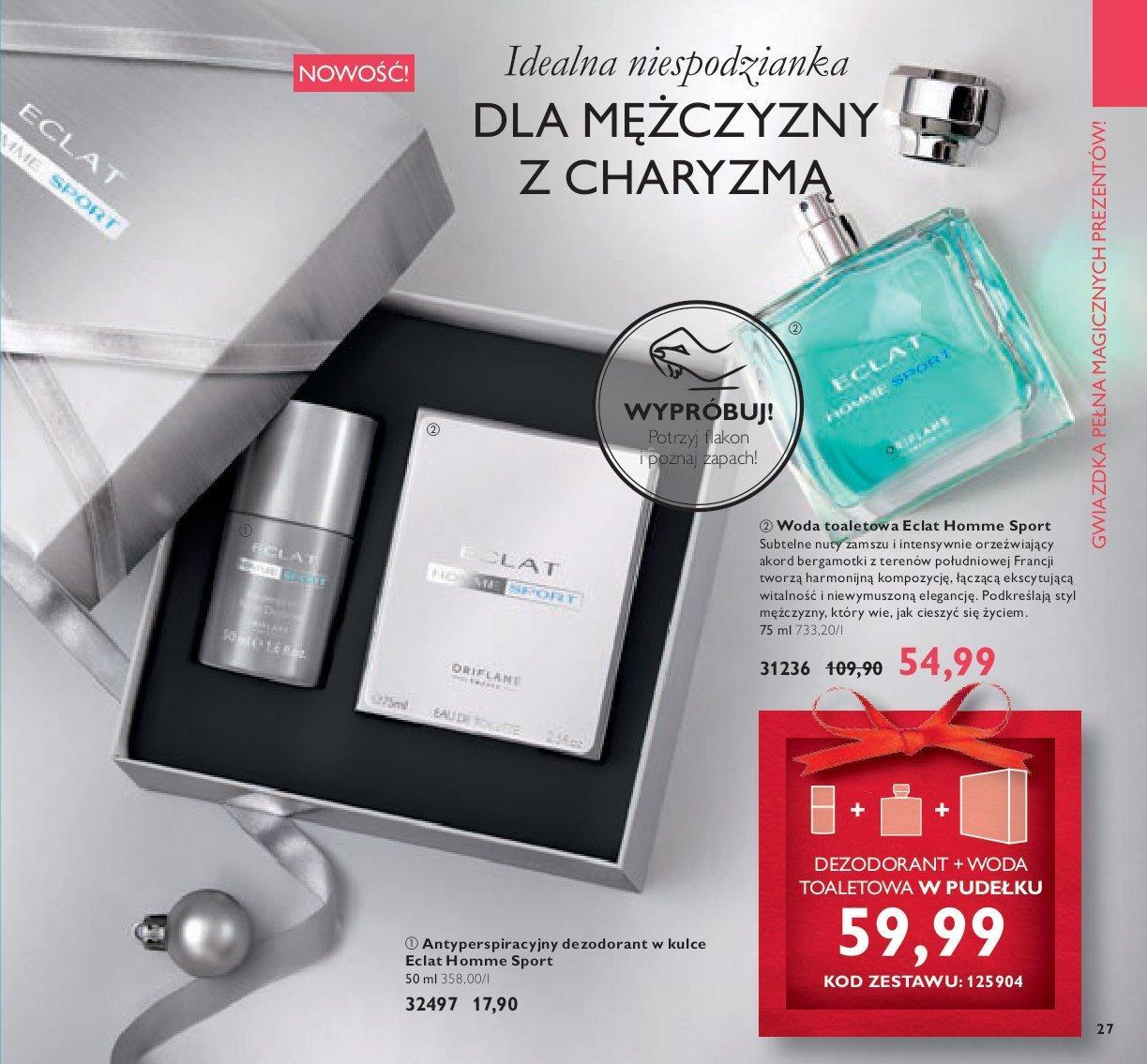 Gazetka promocyjna Oriflame do 26/11/2018 str.91