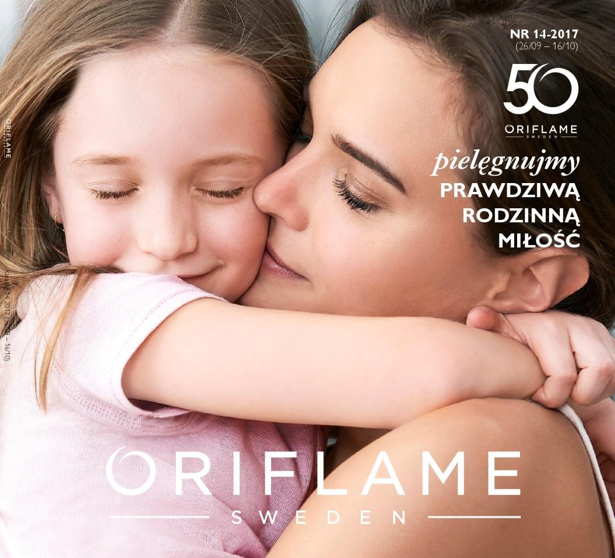 Gazetka promocyjna Oriflame do 16/10/2017 str.0