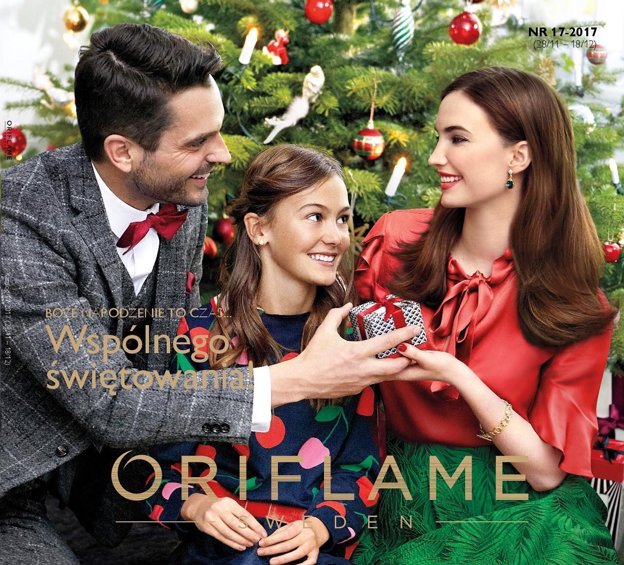 Gazetka promocyjna Oriflame do 18/12/2017 str.0