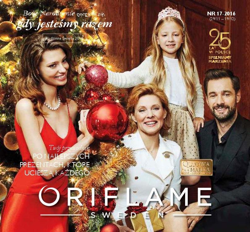 Gazetka promocyjna Oriflame do 19/12/2016 str.0
