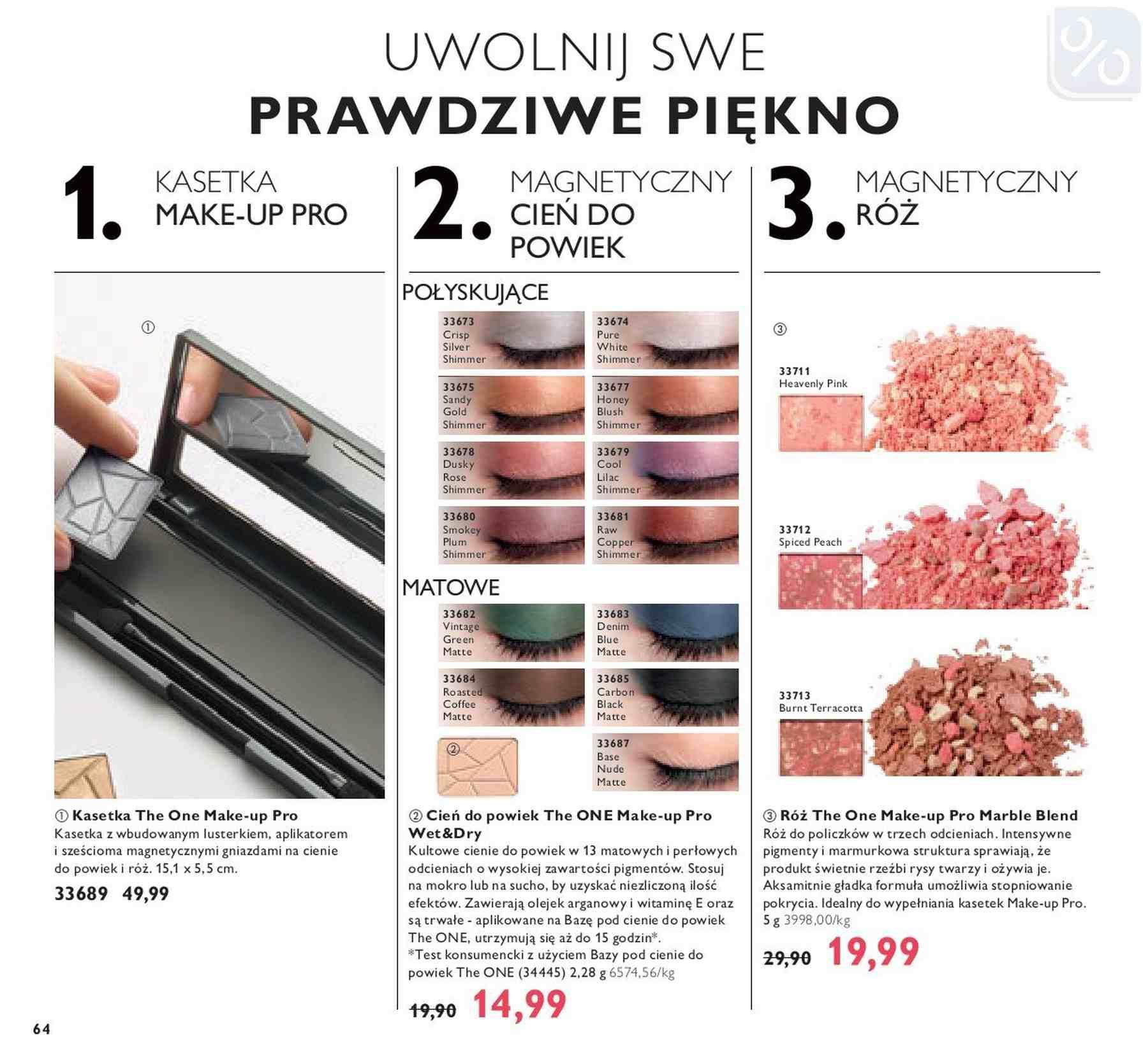 Gazetka promocyjna Oriflame do 14/01/2019 str.63