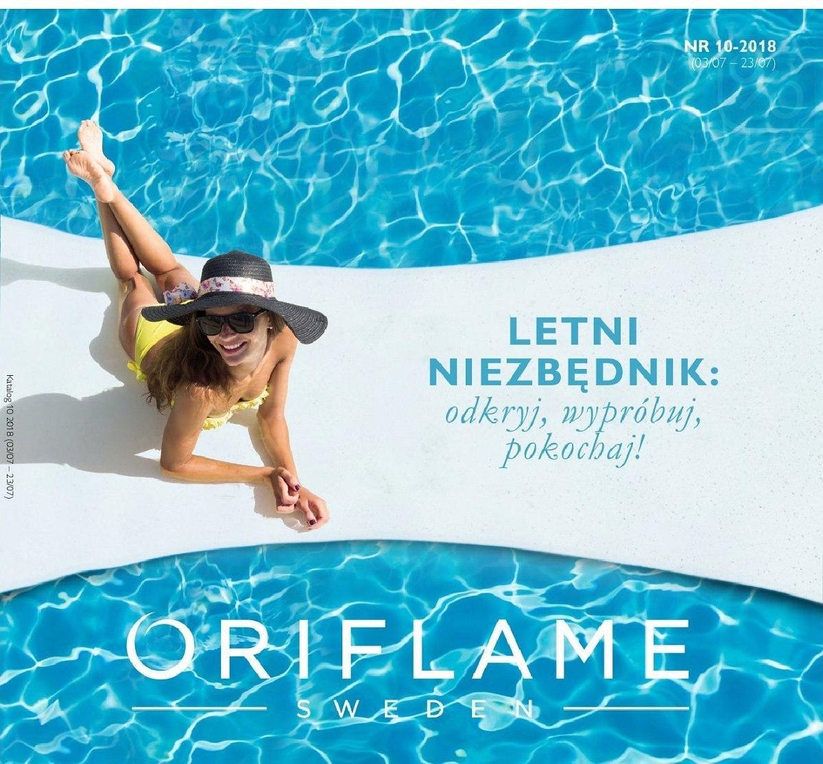 Gazetka promocyjna Oriflame do 23/07/2018 str.0