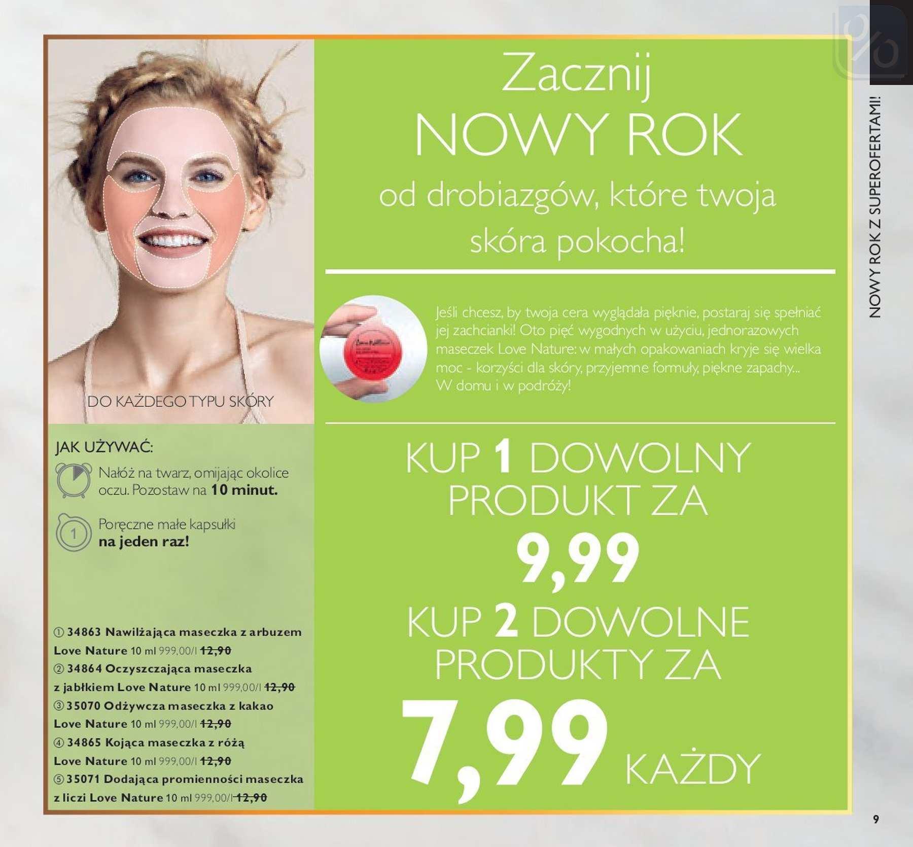 Gazetka promocyjna Oriflame do 14/01/2019 str.8