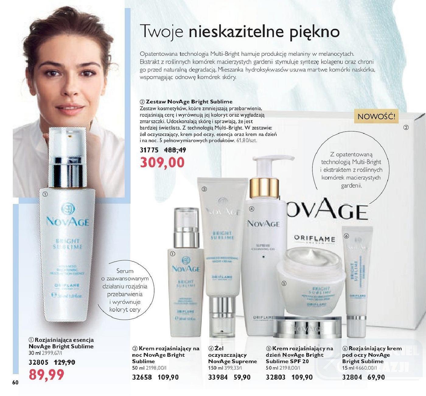 Gazetka promocyjna Oriflame do 05/11/2018 str.59