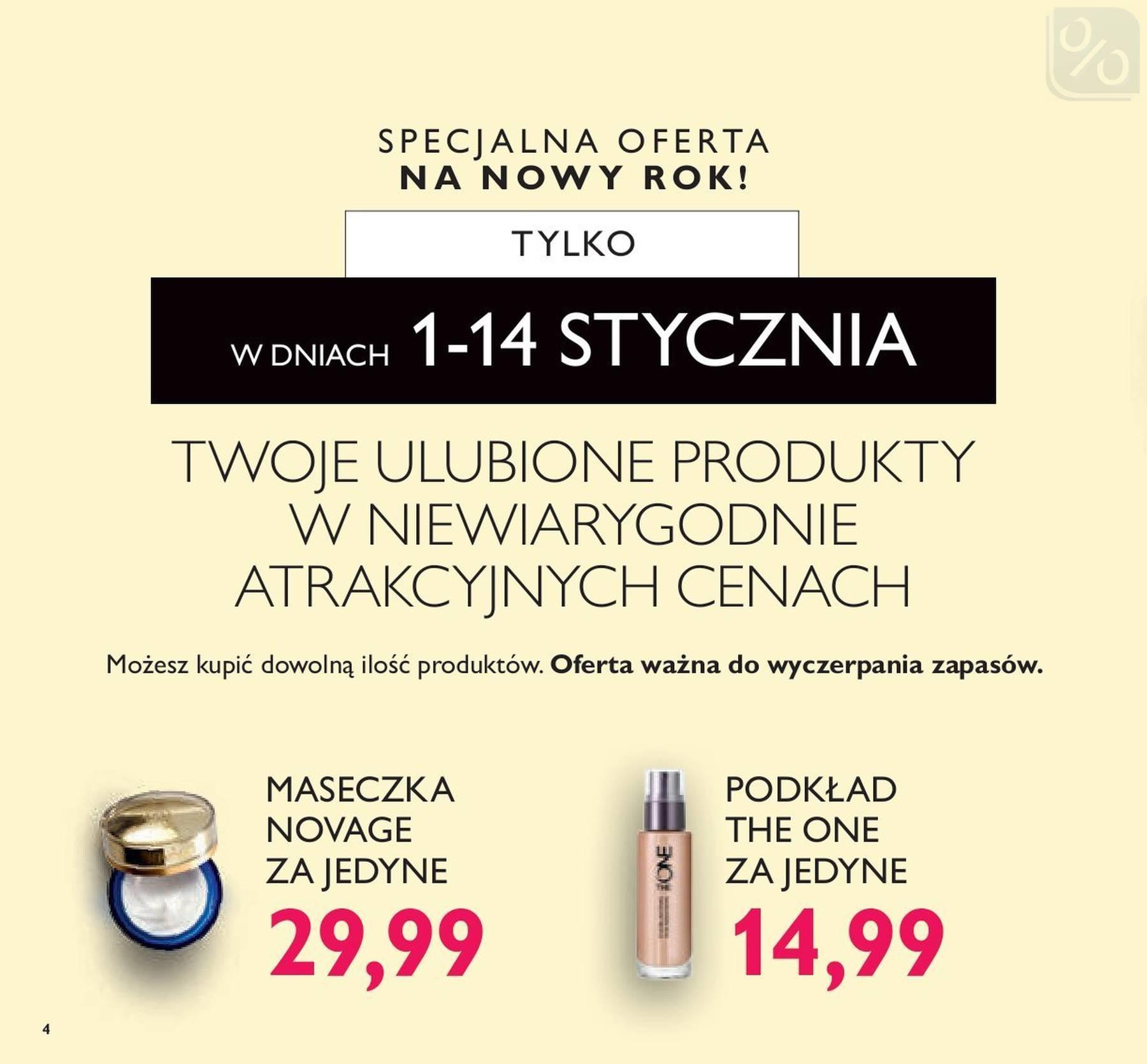 Gazetka promocyjna Oriflame do 14/01/2019 str.3