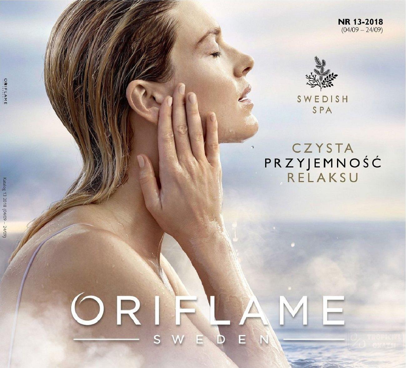 Gazetka promocyjna Oriflame do 24/09/2018 str.0