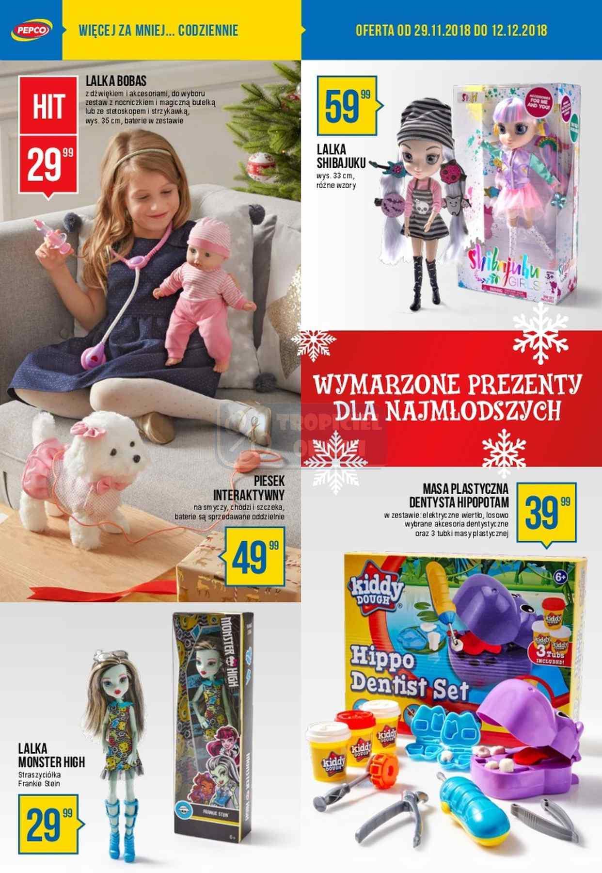Gazetka promocyjna Pepco do 12/12/2018 str.1