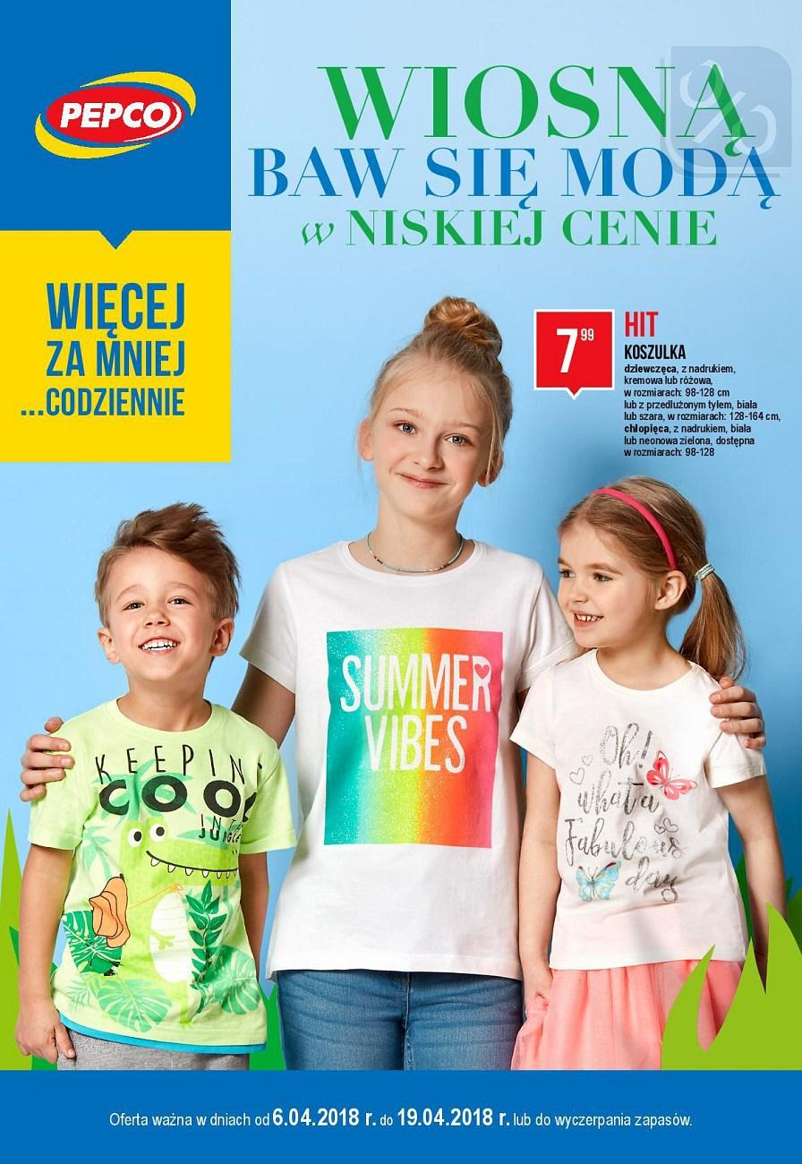 Gazetka promocyjna Pepco do 19/04/2018 str.0