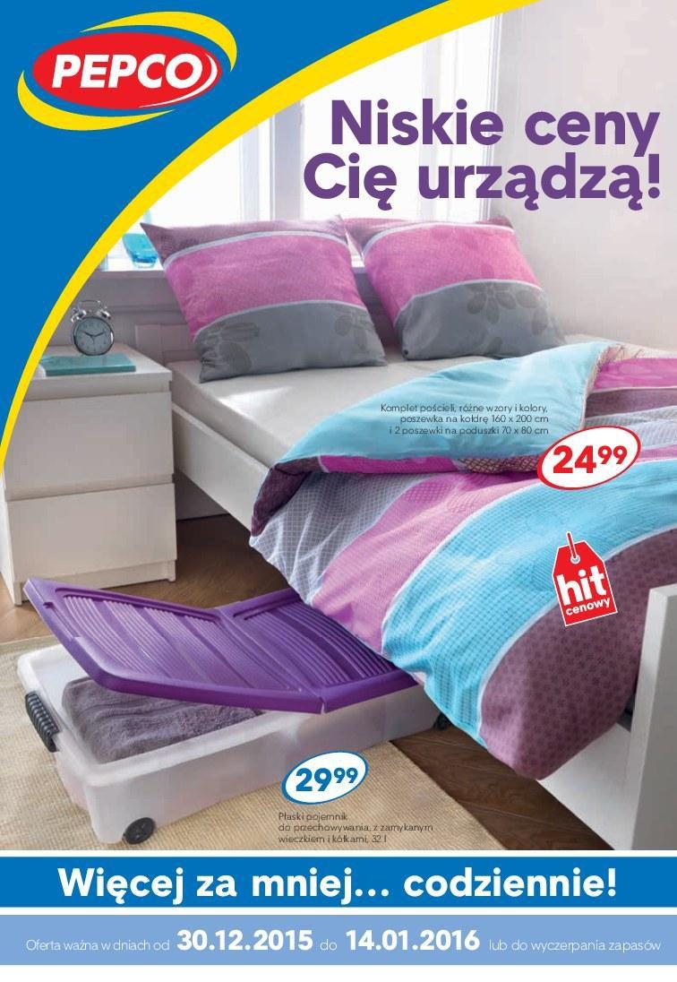 Gazetka promocyjna Pepco do 14/01/2016 str.0