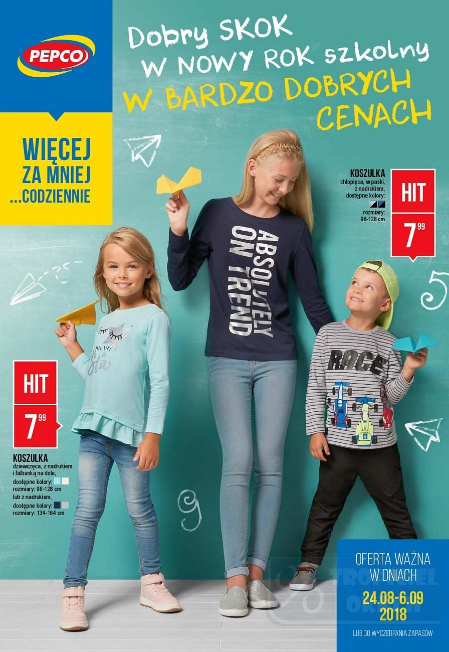 Gazetka promocyjna Pepco do 06/09/2018 str.0