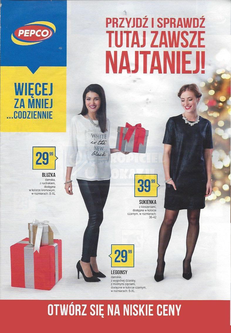 Gazetka promocyjna Pepco do 24/12/2016 str.0