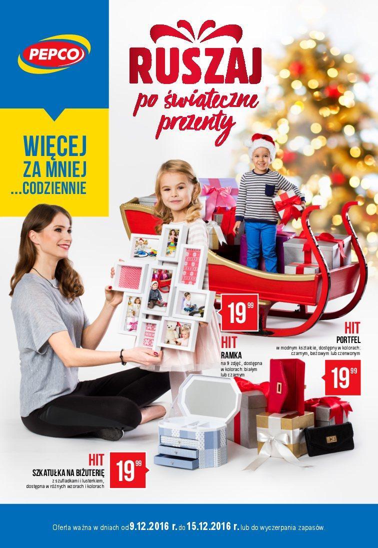 Gazetka promocyjna Pepco do 15/12/2016 str.0