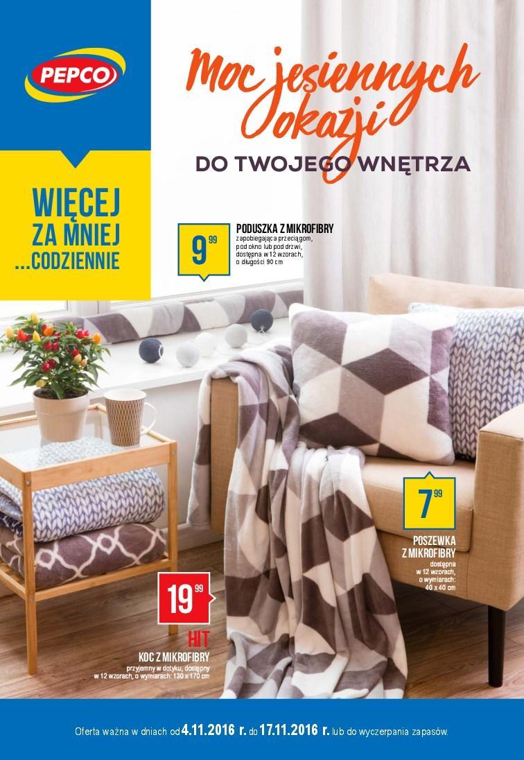 Gazetka promocyjna Pepco do 17/11/2016 str.0
