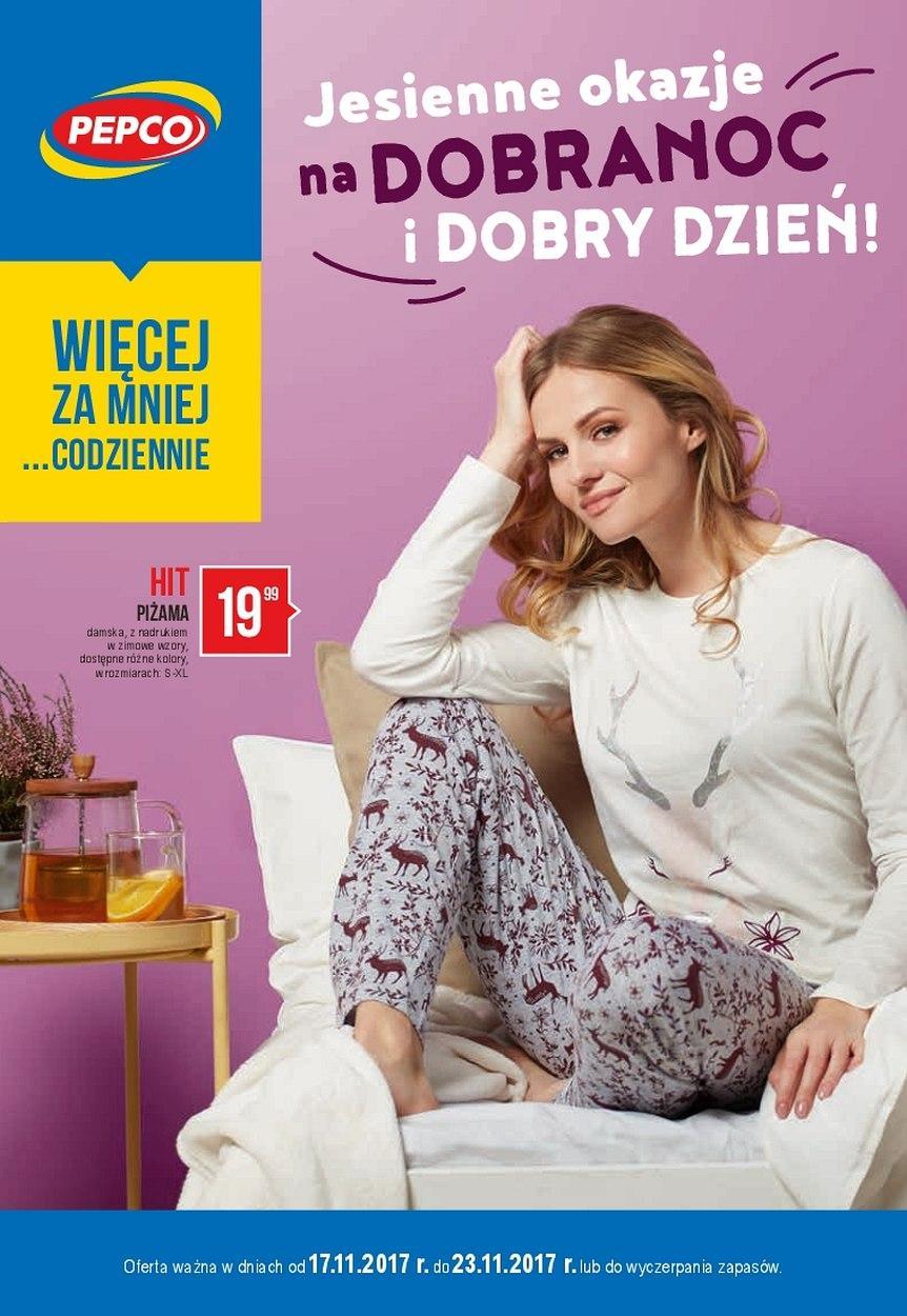 Gazetka promocyjna Pepco do 23/11/2017 str.0