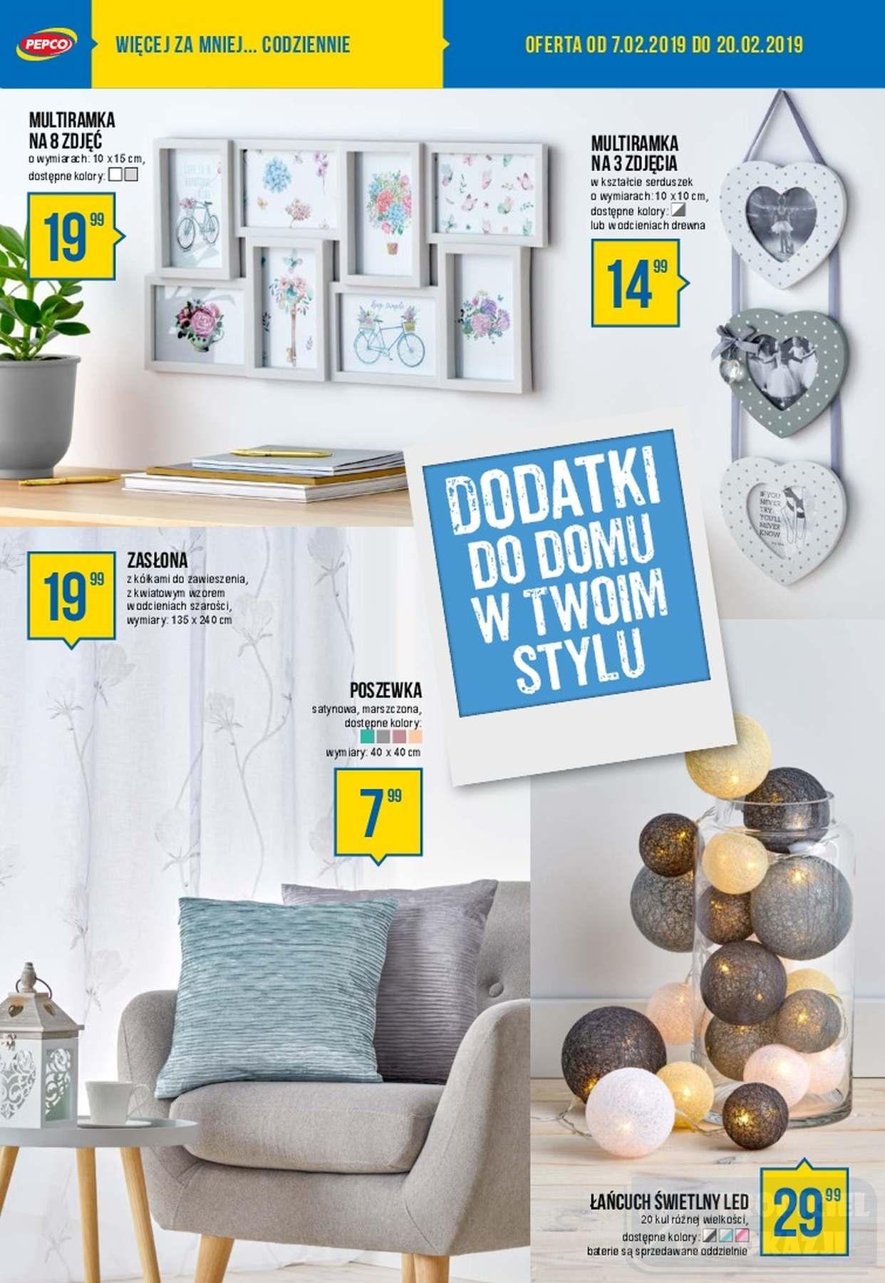 Gazetka promocyjna Pepco do 20/02/2019 str.6