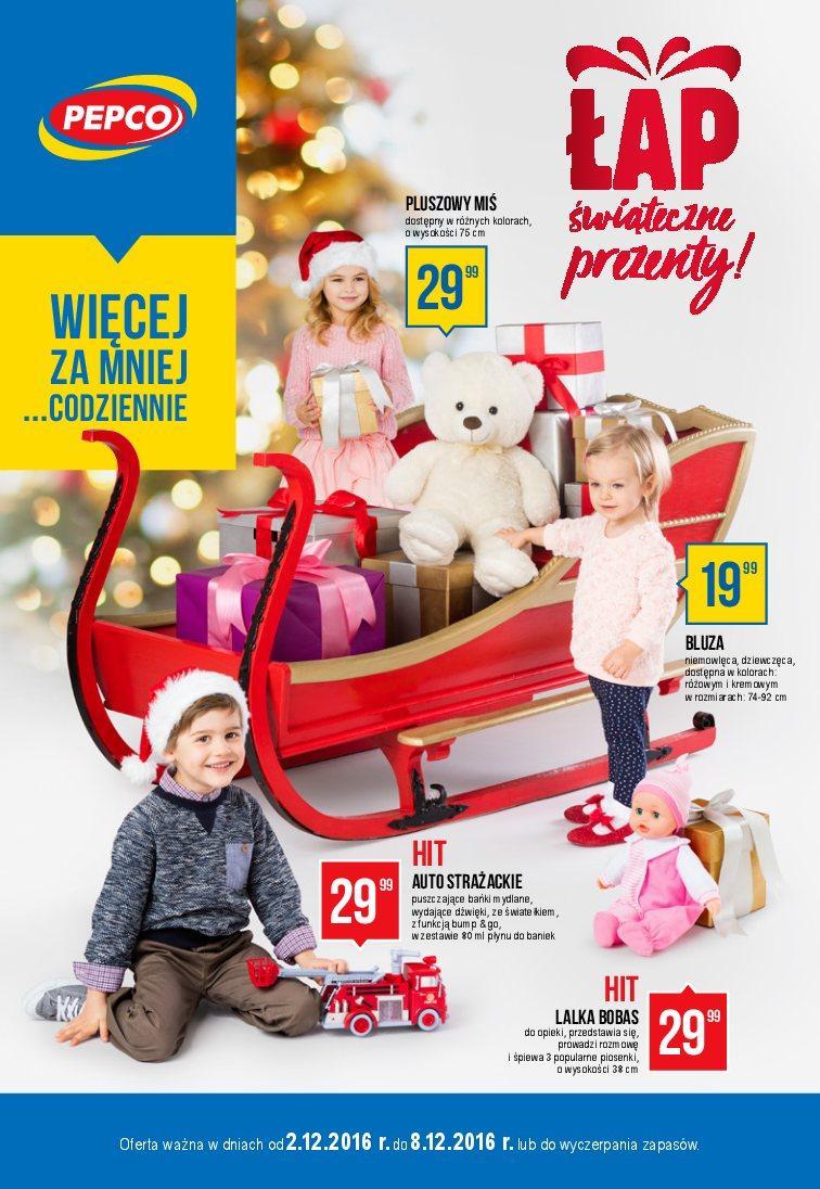 Gazetka promocyjna Pepco do 08/12/2016 str.0