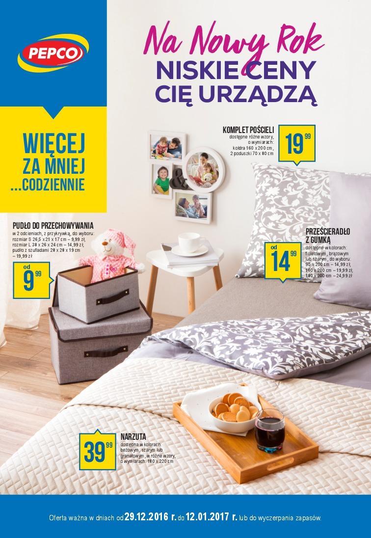Gazetka promocyjna Pepco do 12/01/2017 str.0