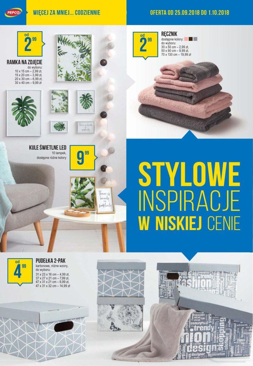 Gazetka promocyjna Pepco do 01/10/2018 str.5