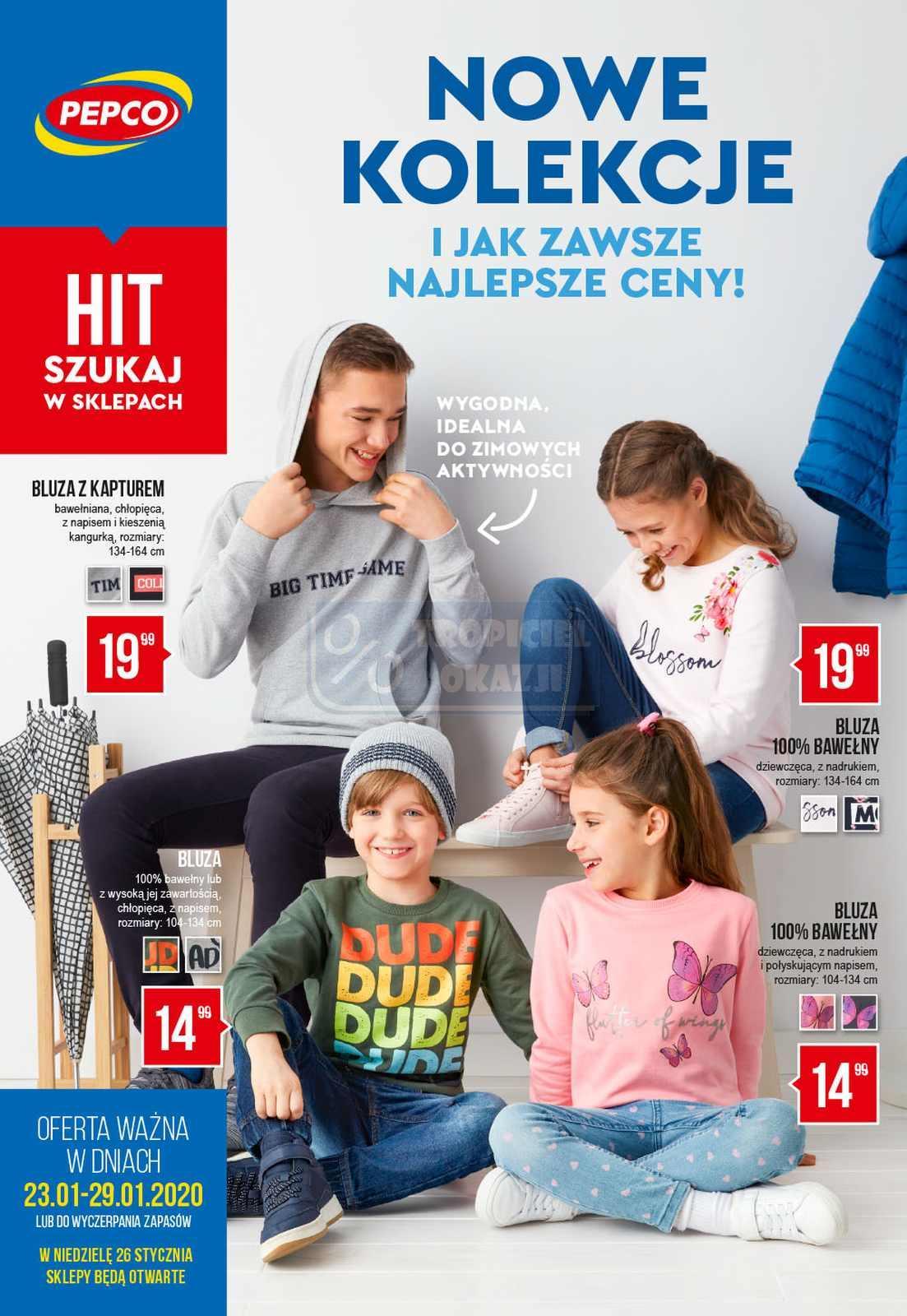 Gazetka promocyjna Pepco do 29/01/2020 str.1