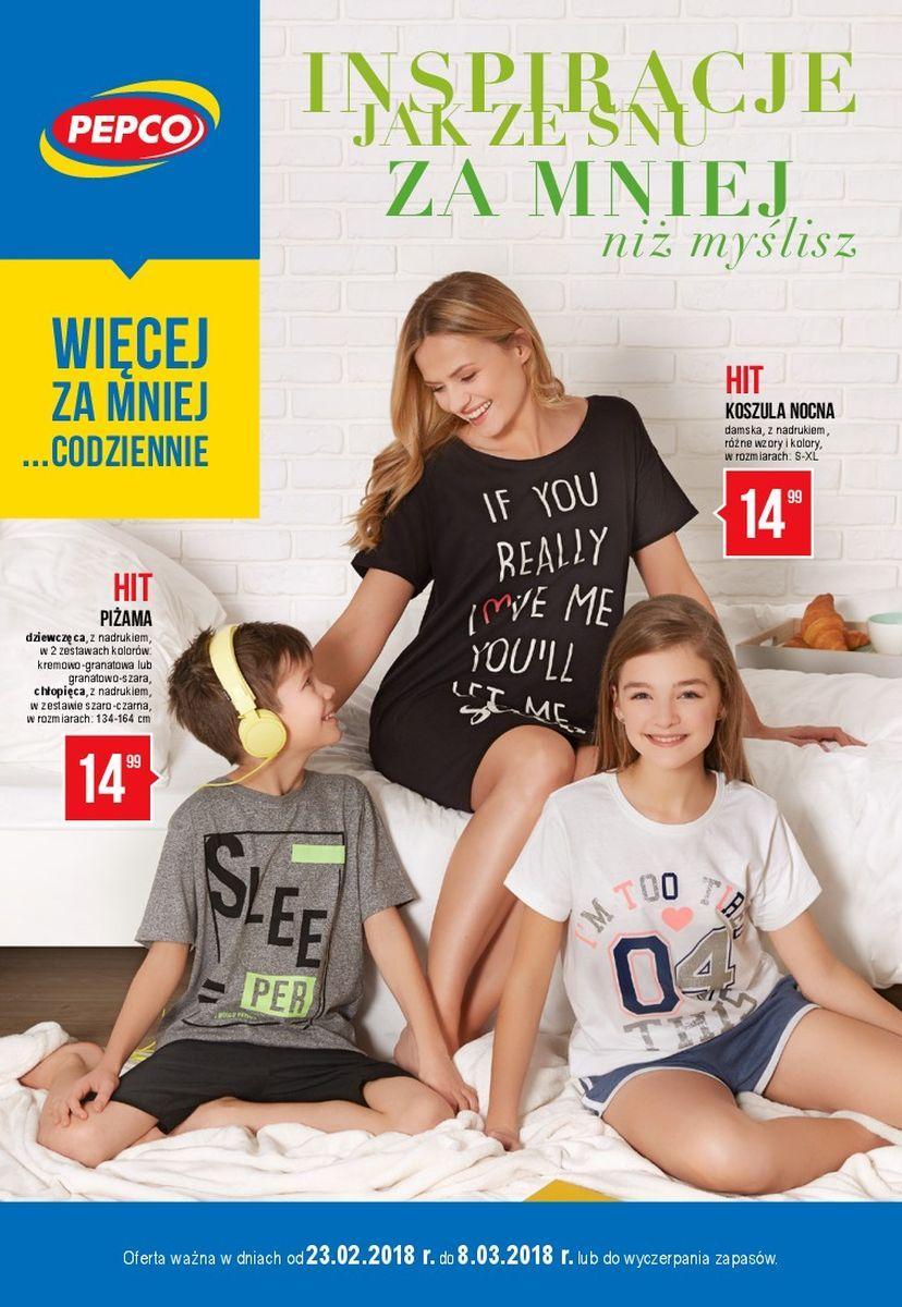 Gazetka promocyjna Pepco do 08/03/2018 str.0